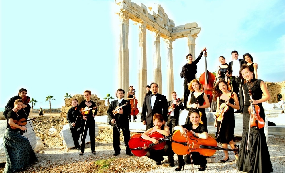Tour of the Chamber Orchestra of TURKSOY