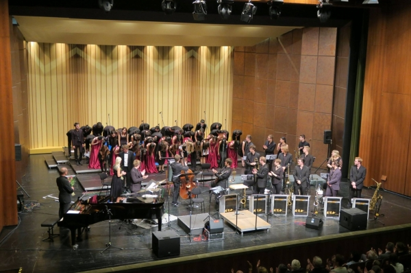 The Youth Chamber Choir of TURKSOY successfully completed its tour in Germany