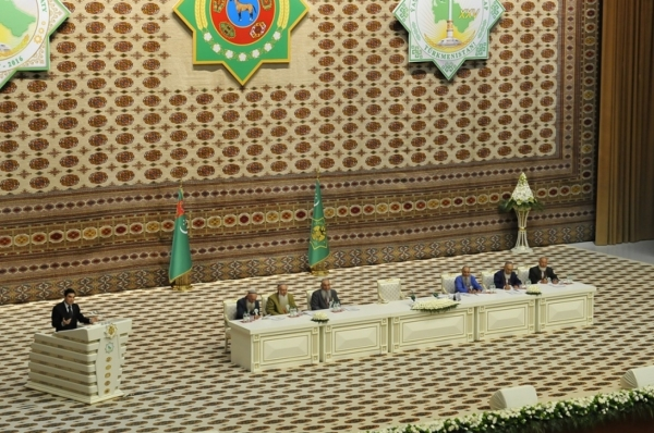 In Turkmenistan a Constitutional Law on Approval of the new edition of the Constitution of the country is adopted.