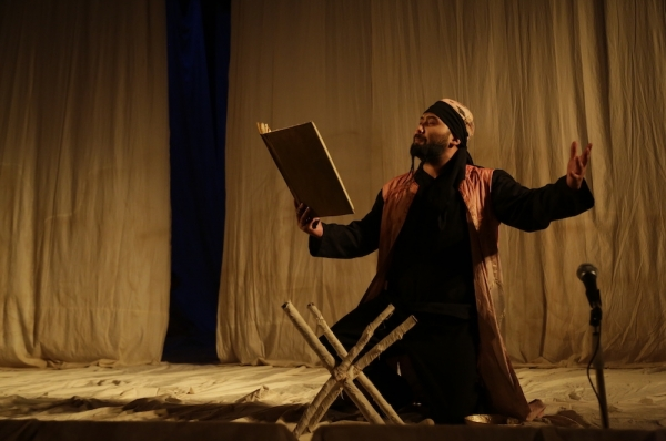 """The theater play """"Korkut Ata"""" was performed in Kyrgyzstan"""