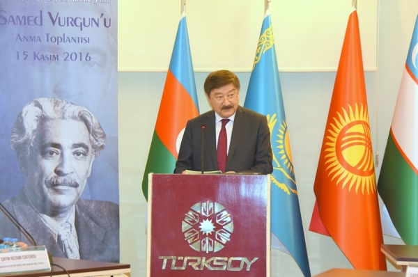 Samed Vurgun was commemorated in Ankara on the occasion of the 110th anniverary of his birthday