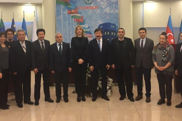 The Minister of Education and Science of the Federation of Bosnia-Herzegovina visited TURKSOY