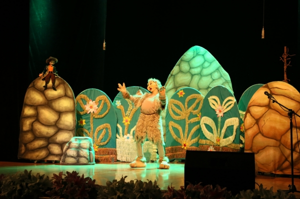 Fifth International Festival of Puppet Theaters in Turkistan