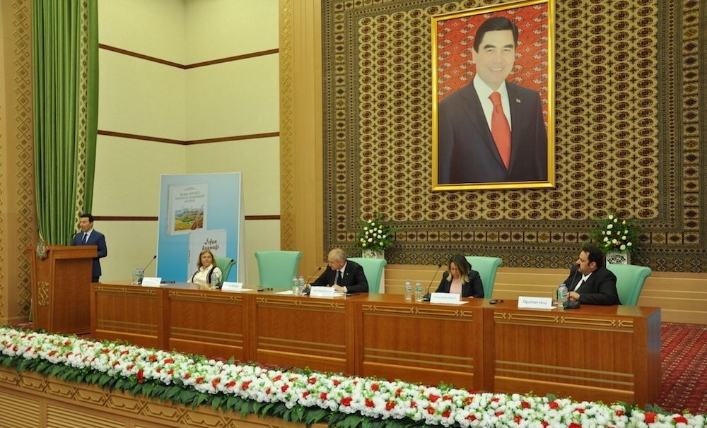 "TURKSOY published the book written by the President of the Republic of Turkmenistan: ""The  Music of Peace, The Music of Friendship and Brotherhood"""