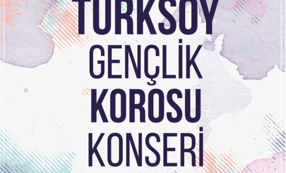Concert of the Youth Chamber Choir of TURKSOY in Ankara will take place in the TRT Arı Studio in Ankara