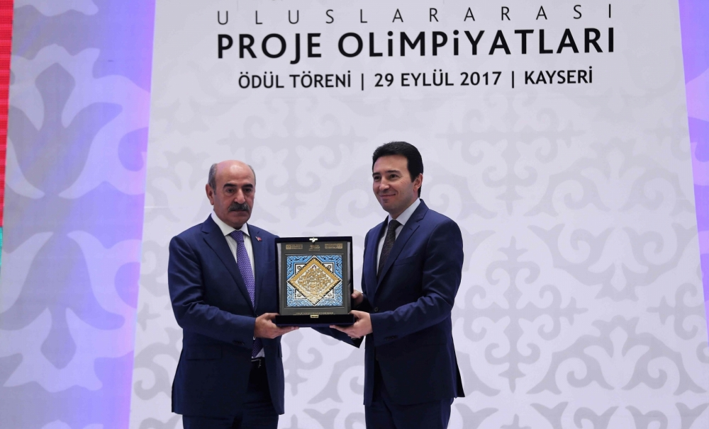 "TURKSOY received the Prize of ""Design and Idea Project"" of the International Mimar Sinan Project Olympics"