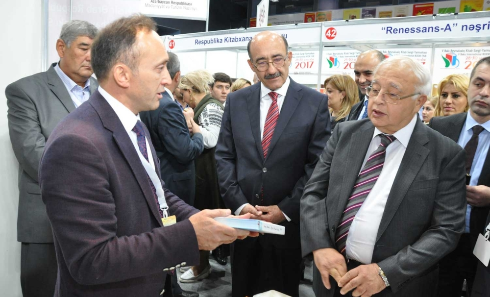 TURKSOY's Publications were the highlight of the Fifth International Bookfair of Baku