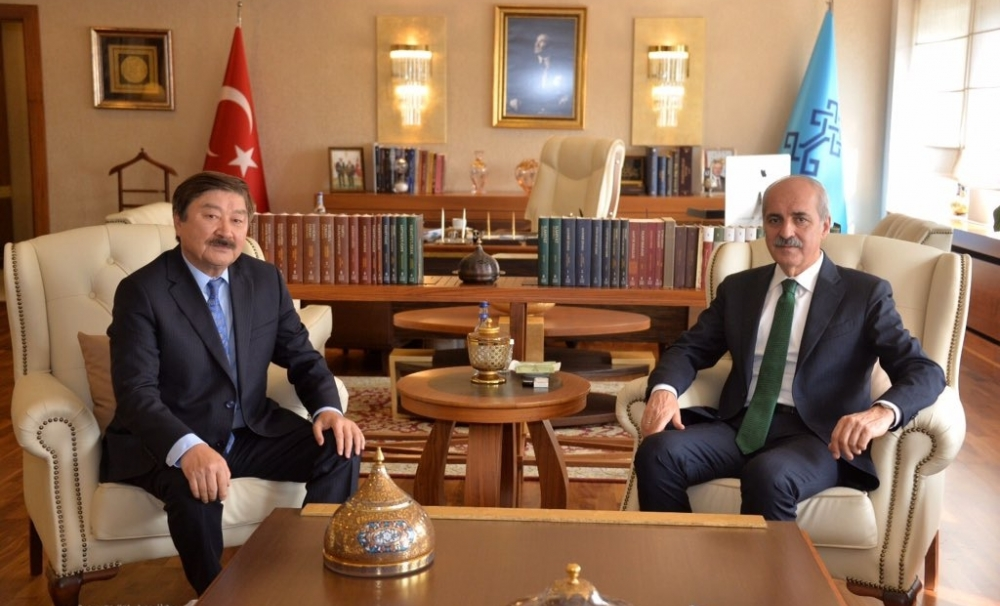 Ambassador  Kasseinov paid a visit to the Minister of Culture and Tourism of the Republic of Turkey