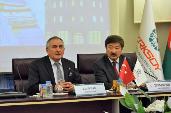The Mayor of Bolu paid a visit to TURKSOY