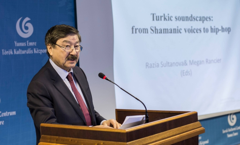 """Promotion of the book """"Turkic Soundscapes: From Shamanic Voices to Hip Hop"""" in London"""