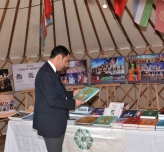 Exhibition of TURKSOY at the fair in Kastamonu