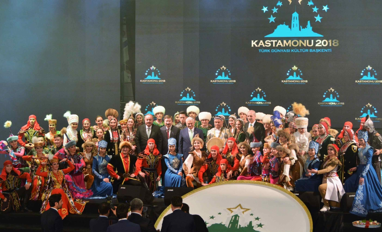 Wonderful Opening Event for Kastamonu, the Cultural Capital of the Turkic World 2018