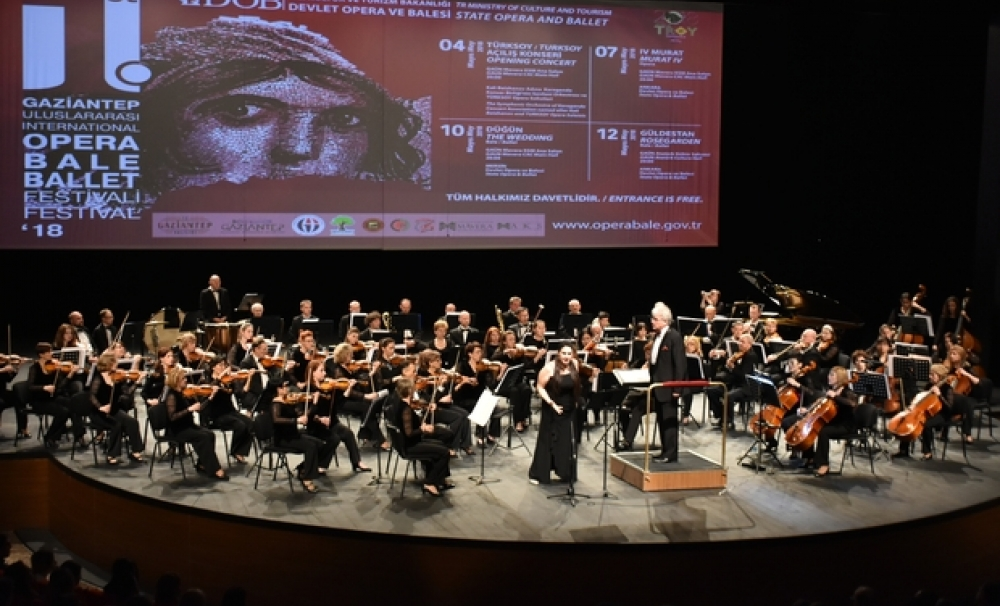 TURKSOY at the Opera and Ballet Festival of Gaziantep