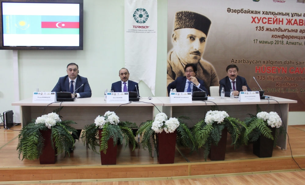 The 100th Anniversary of the Republic of Azerbaijan was celebrated in Kazakhstan