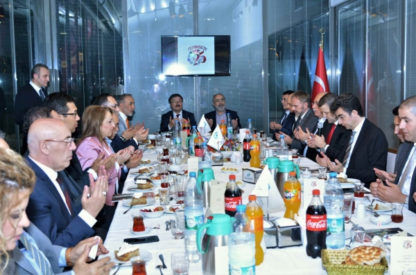 The traditional Iftar Dinner of TURKSOY gathered friends of the Turkic World