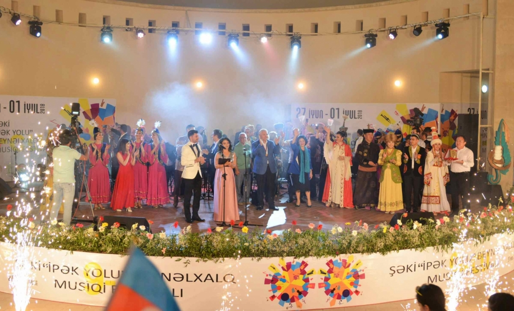 Colourful contribution of TURKSOY to the  International Silkroad Festival of Sheki