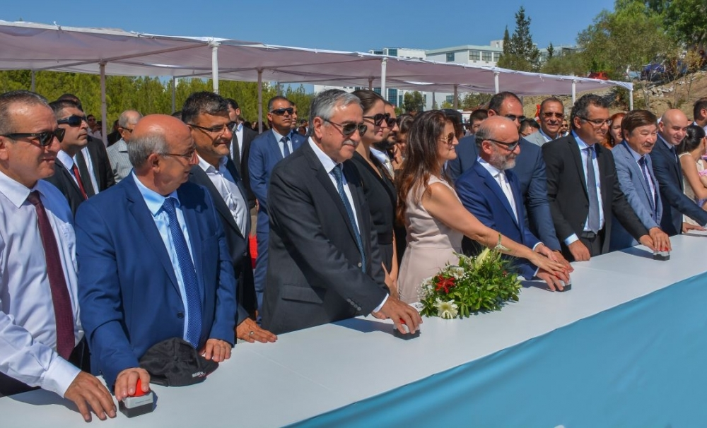 Mr. Kasseinov attended the groundbreaking ceremony of the Museum of Contemporary Arts of the TRNC