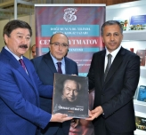 "The Art Album entitled ""Reading Chingis Aitmatov"" was introduced at the TUYAP Bookfair"