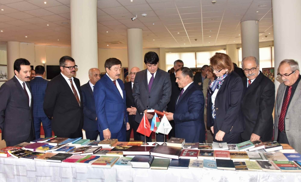 "Presentation of  two books: ""The 100th Anniversary of the People's Republic of Azerbaijan"" and ""Gara Garayev, Bibliography"" in TURKSOY Headquarters"