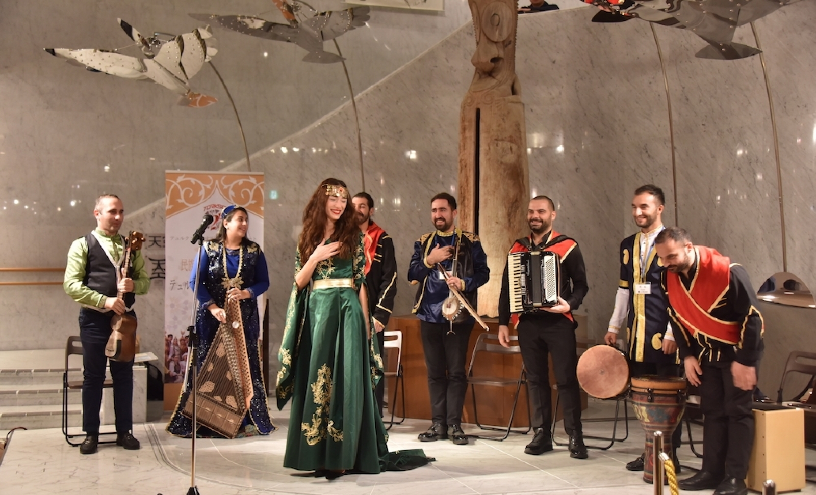 Concert of TURKSOY at the Museum of Music Instruments in Japan