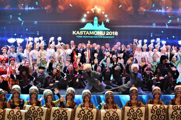 Magnificent Closing Ceremony of Kastamonu, the Cultural Capital of the Turkic World 2018
