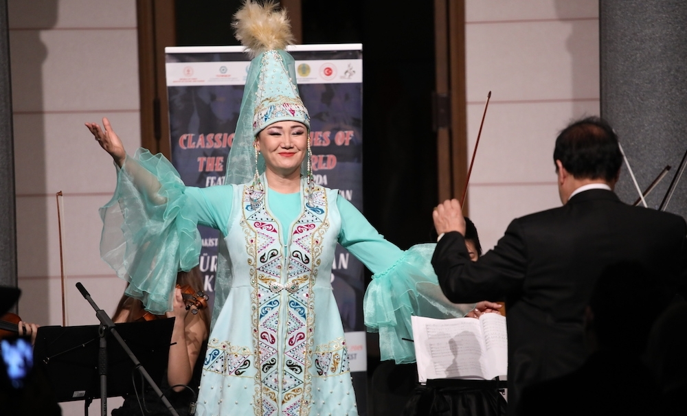 Melodies of the Turkic World reached out from the Caspian Sea to the Danube River with TURKSOY
