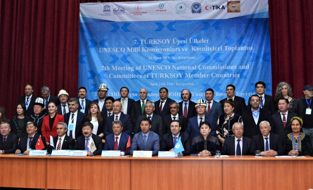 Osh, the Cultural Capital of the Turkic World 2019 gathered UNESCO National Commissions of TURKSOY member countries