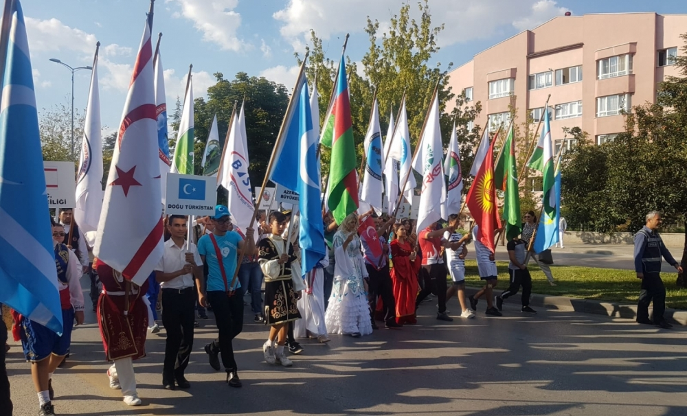 The Turkic World came together at the Culture and Art Festival of International Anatolian Days in Etimesgut
