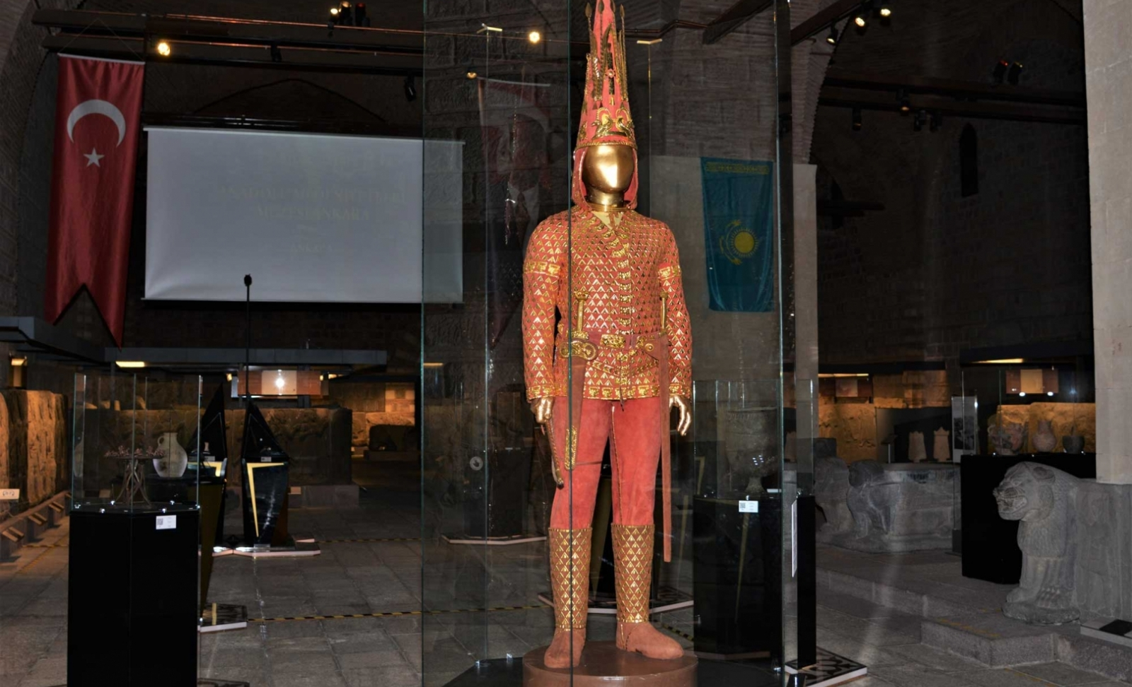"Exhibition of ""The Golden Man"" at the Museum of Anatolian Civilizations"