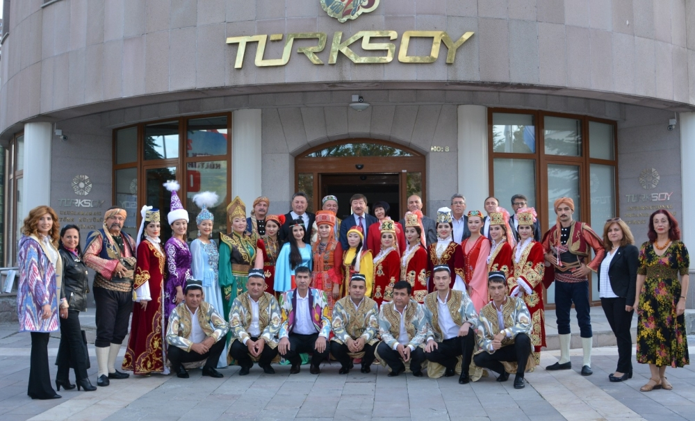 Artists of the Turkic World visited TURKSOY Headquarters