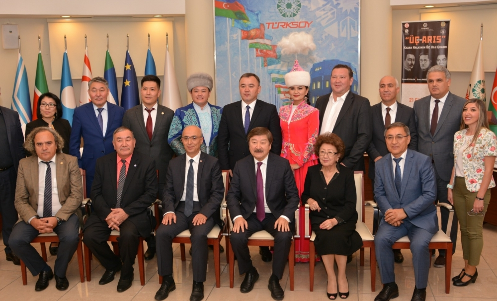 Three illustrious personalities of the Kazak people commemorated in TURKSOY Headquarters