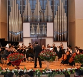 Concert of the Youth Chamber Orchestra of TURKSOY th the Kazak State Conservatory named after Kurmangazy