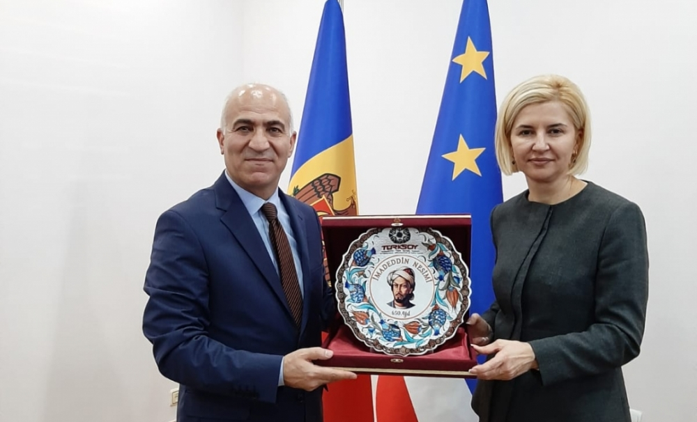 The delegation of TURKSOY met with officials in Moldova