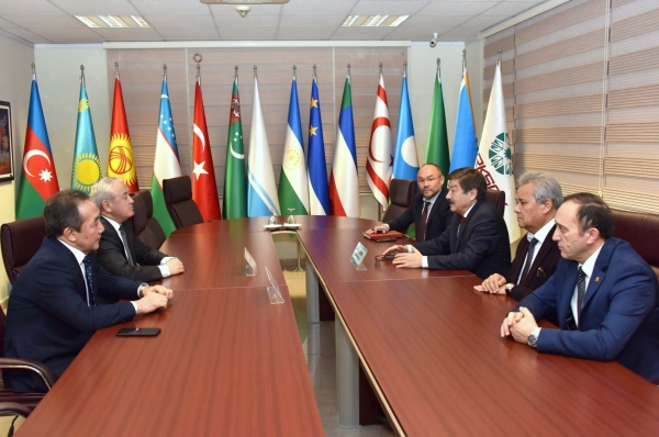 Visit of The First  Deputy Minister of Culture, Information and Tourism of the Kyrgyz Republic Baktybek Sekimov to TURKSOY Headquarters