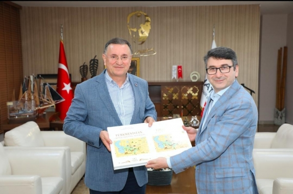 TURKSOY speeds up its cooperation with the Municipality of Hatay for the Botanical Expo 2021
