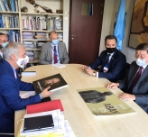 Meeting in Paris on possibilities to strengthen mutual ties between TURKSOY and UNESCO