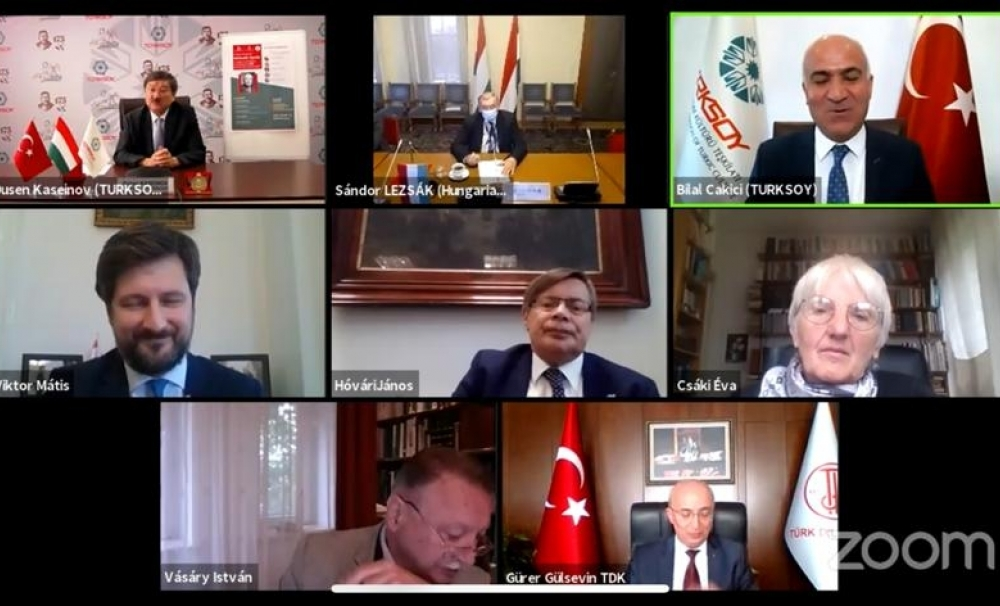 Online Conference  of TURKSOY dedicated to  Gyula Nemeth