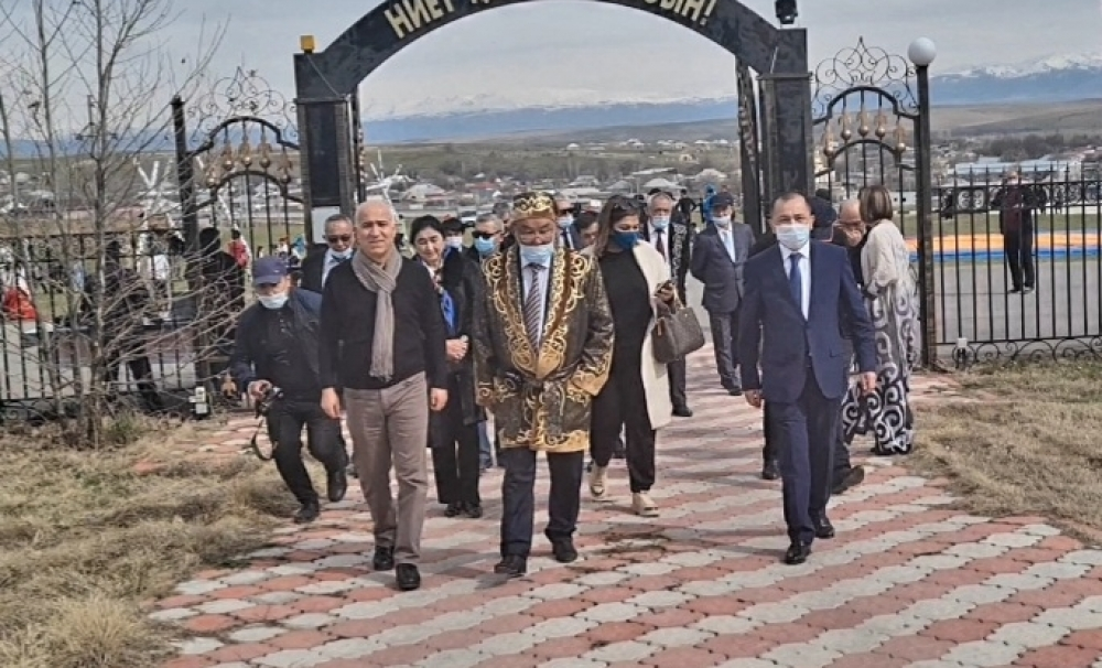 TURKSOY Deputy Secretary General Çakıcı attended Nowruz celebrations in Turkistan