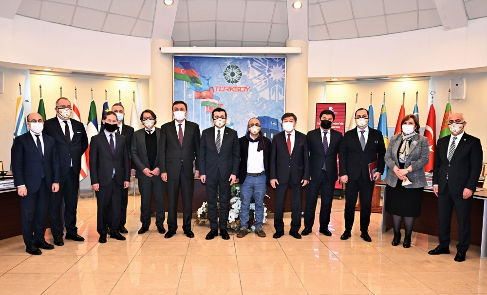 """Second Information Meeting on the """"Silkroad Rally from the Danube River to the Orkhon Valley"""" held in TURKSOY Headquarters"""