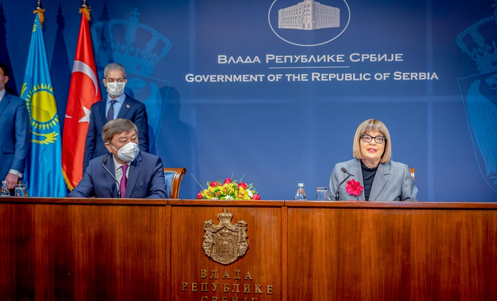 Cooperation Protocol signed between TURKSOY and the Ministry of Culture of Serbia