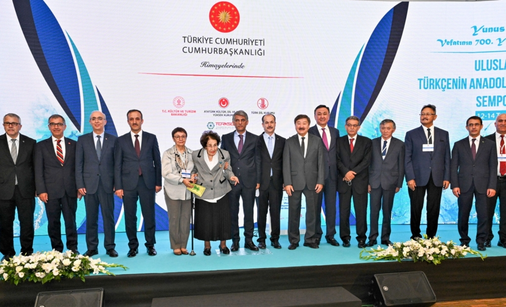 The International Symposium on the Use of Turkish language as a Written Language in Anatolia gathered a large audience