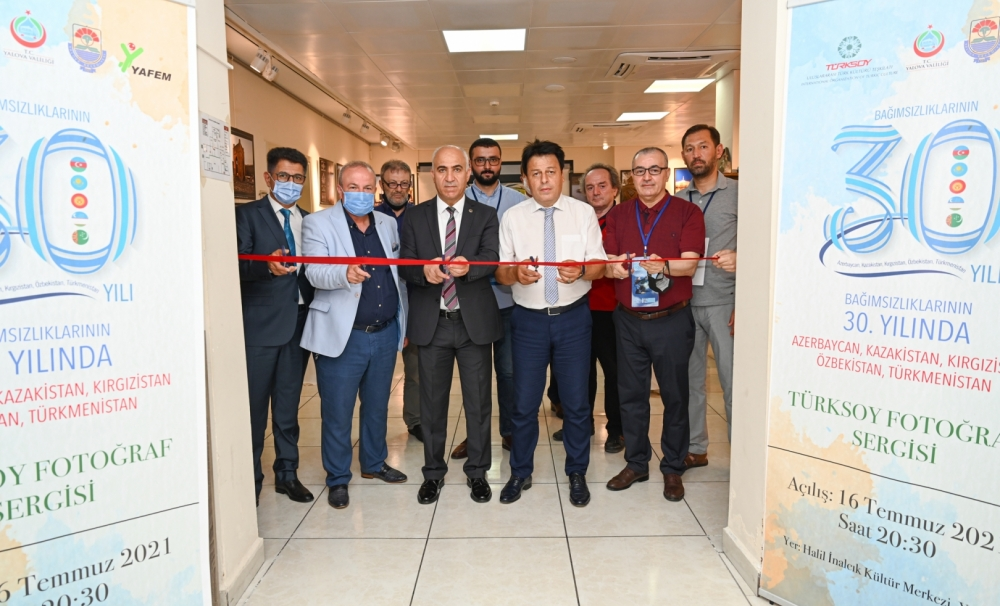 Exhibition dedicated to the 30th Anniversary of the Independence of Turkic republics in Yalova
